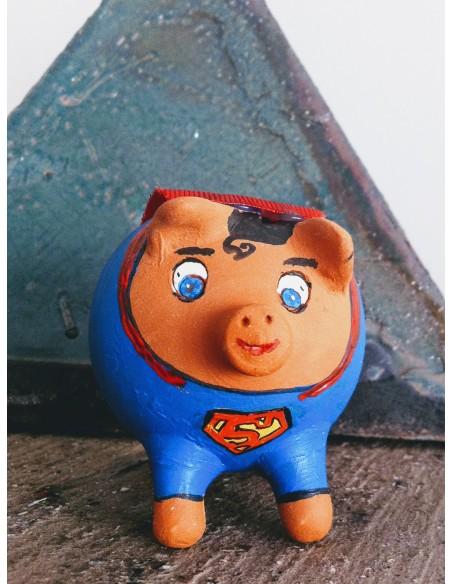 Hucha cerdito Superhéroes