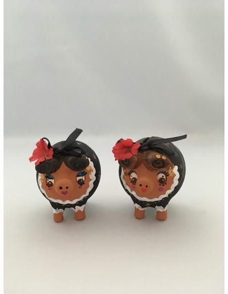 Hucha cerdita Extremeña Mini Pack 10 uds