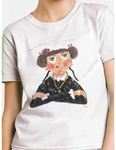 Camiseta extremeña mosqueada