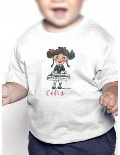 Camiseta extremeña cocas grandes