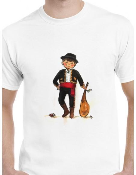 Camiseta extremeño con jamón