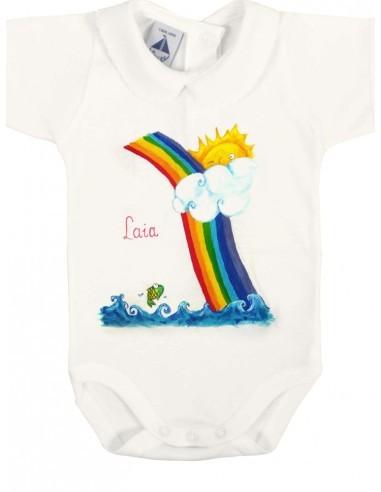 Body bebé arcoiris