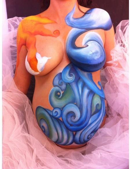 Belly Paint. Pintura Corporal para embarazadas