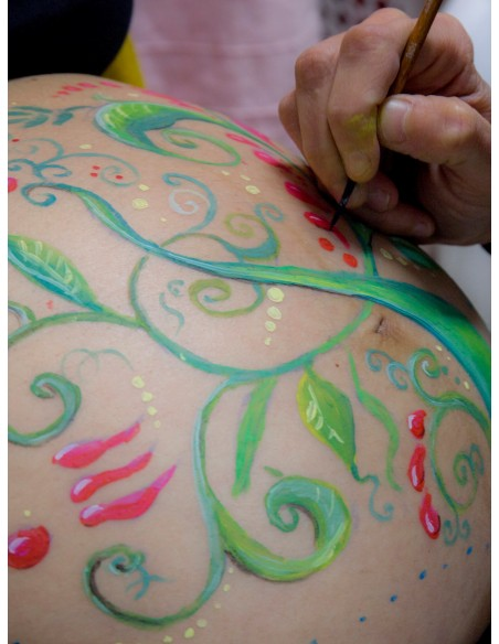 Belly Paint. Pintura Corporal para embarazadas