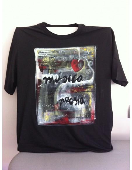 Camisetas personalizadas pintadas a mano