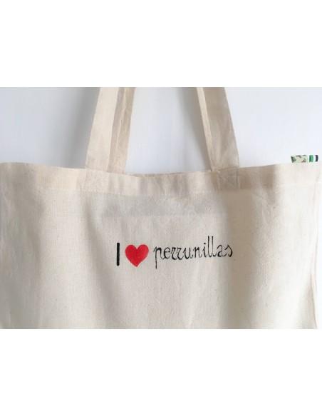 Bolsa I love Perrunillas