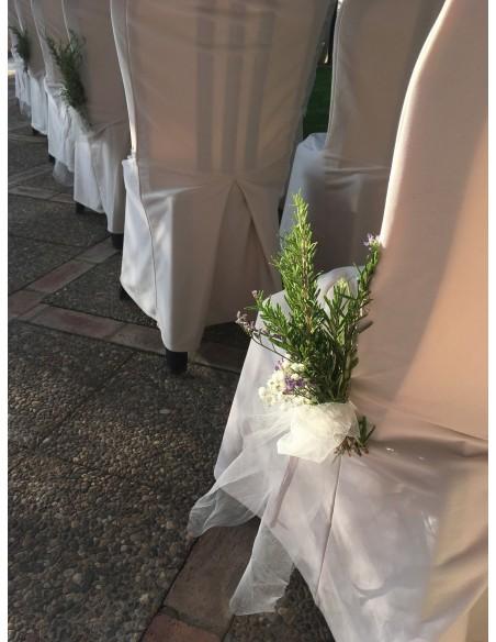 Elementos Florales y Decoración para Bodas