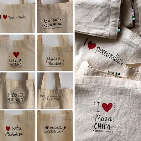 tote bags pintados a mano personalizados dedicarte taller creativo