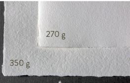 textura y gramage del papel para las caricaturas