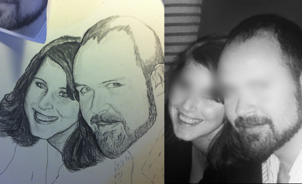 ejemplo de proceso de trabajo retrato