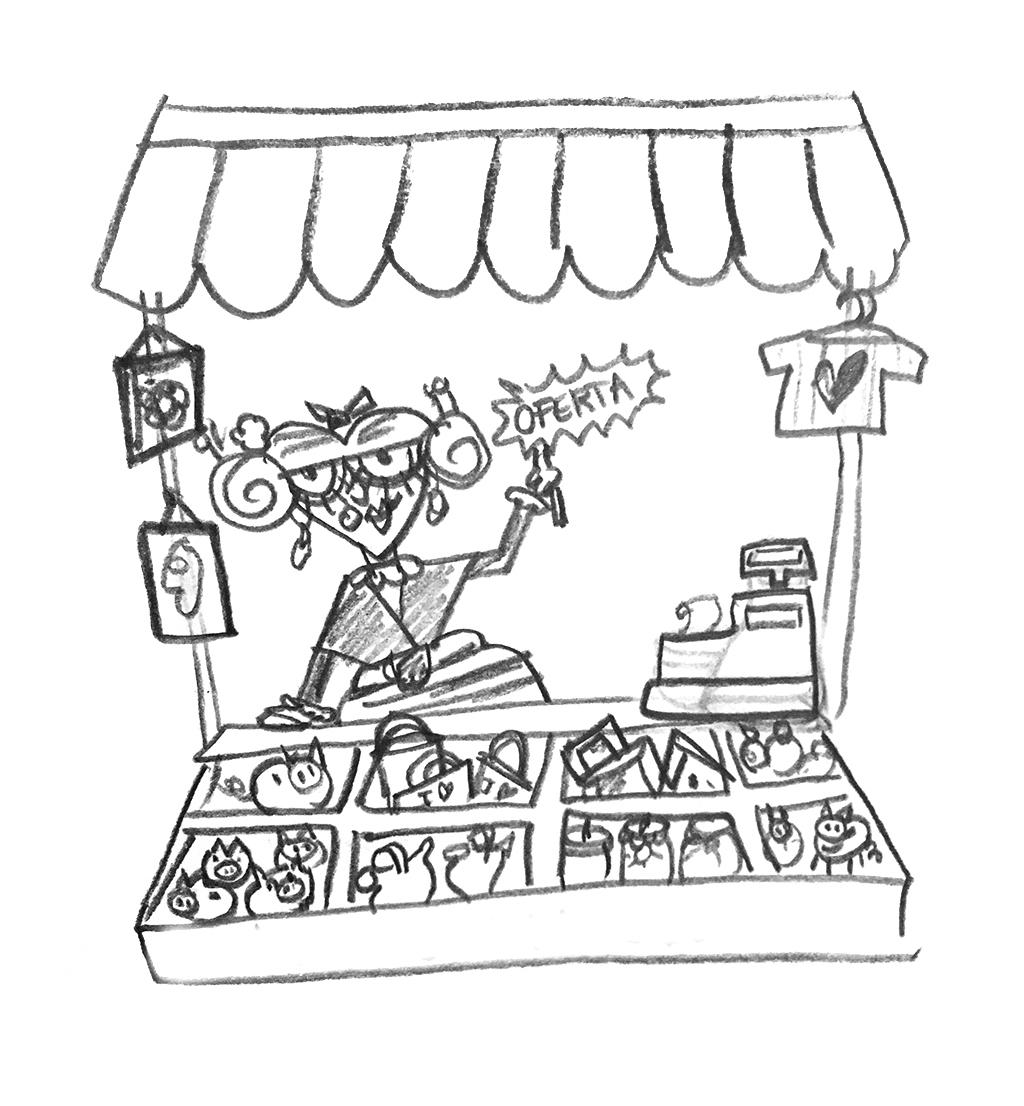 Condiciones generales de venta dedicarte taller creativo ilustración