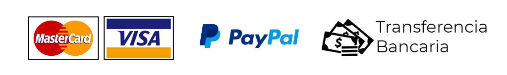 visa master card paypal contrareembolso