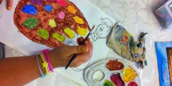 Trucos para hacer actividades artísticas con niños
