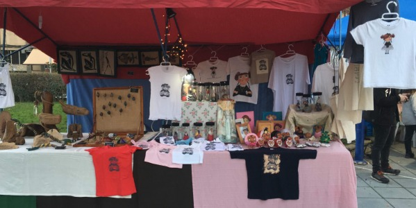 Mercado de Navidad en Zafra